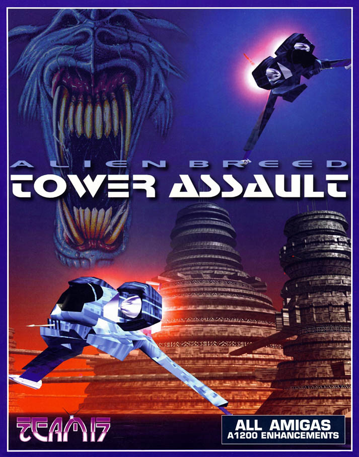 Alien Breed: Tower Assault - Amiga Box Scan - Front