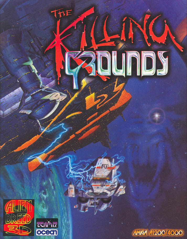 Alien Breed 3D 2: The Killing Grounds - Amiga Box Scan - Front