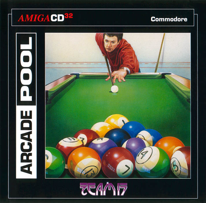Arcade Pool - Amiga  CD32 Box Scan - Front