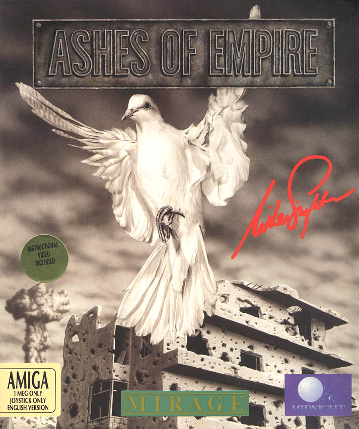 Ashes of Empire - Amiga Box Scan - Front
