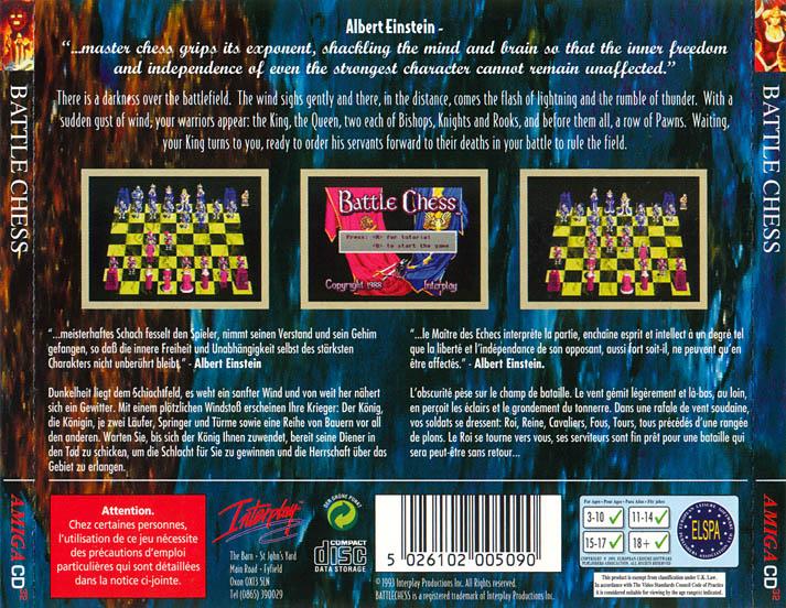 Battle Chess - Amiga Game - Download ADF, Review - Lemon Amiga