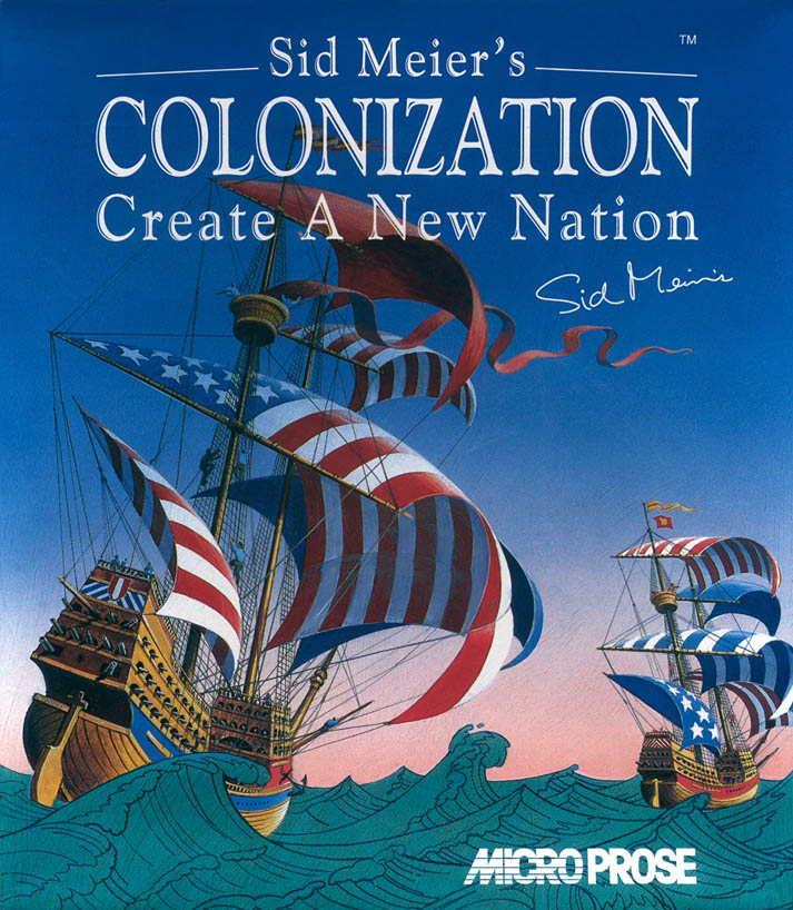 Colonization - Amiga Box Scan - Front