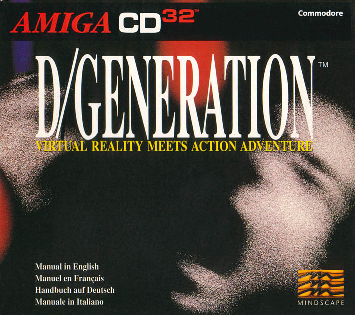 D/Generation - Amiga  CD32 Box Scan - Front