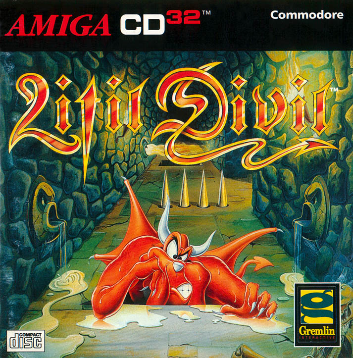 Litil Divil - Amiga  CD32 Box Scan - Front