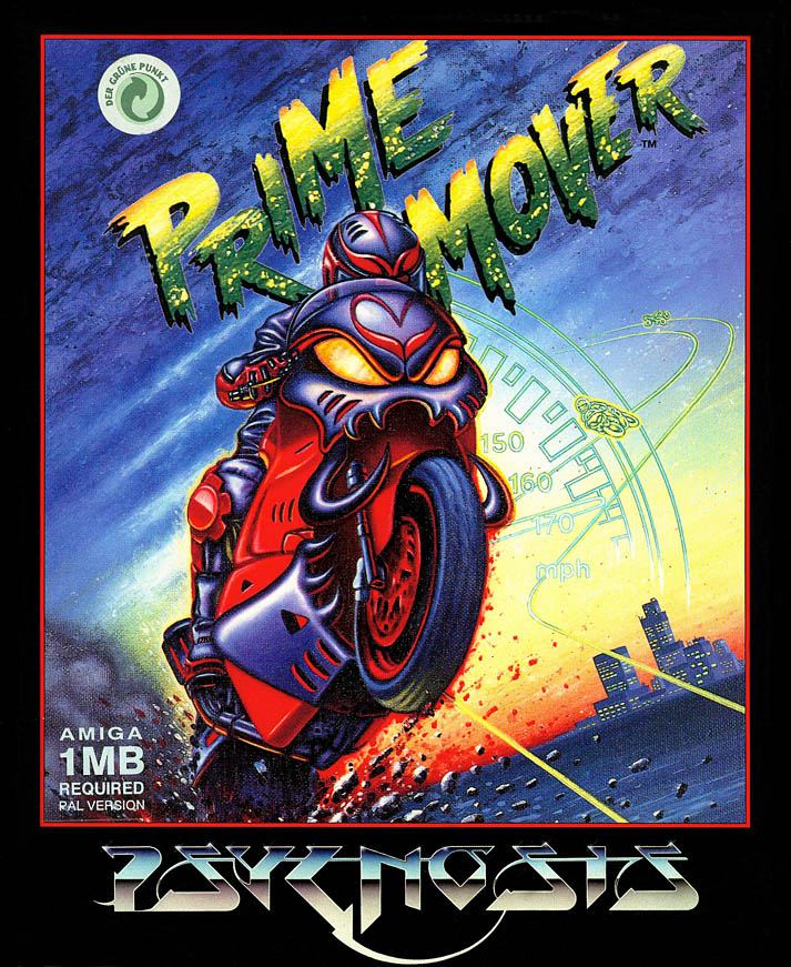 Prime Mover - Amiga Box Scan - Front