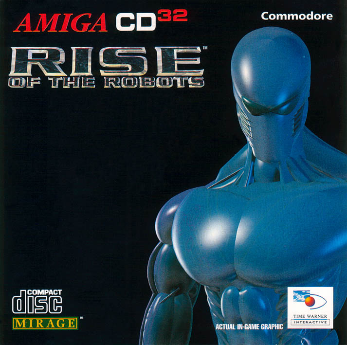 Rise of the Robots - Amiga  CD32 Box Scan - Front