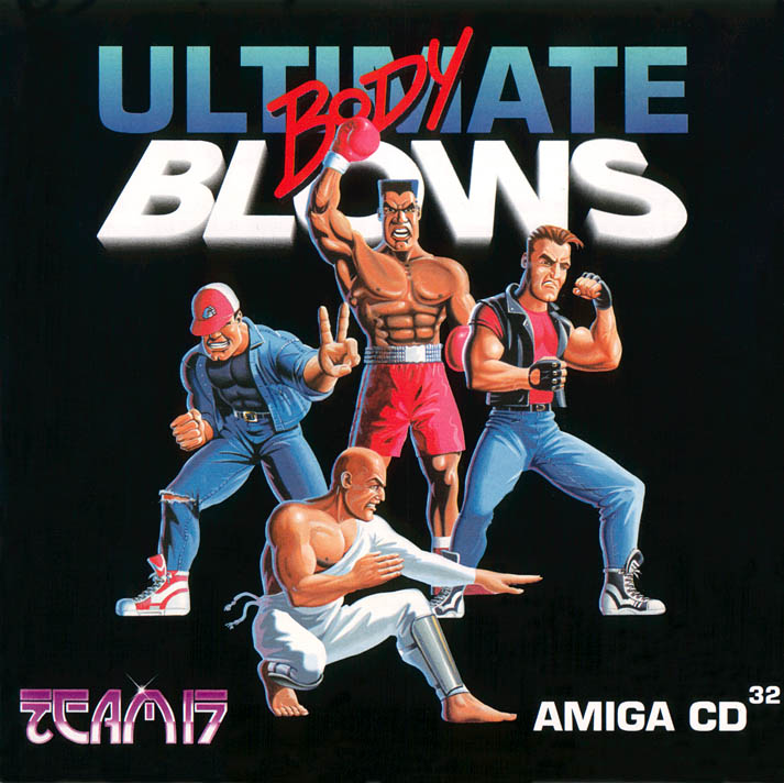Ultimate Body Blows - Amiga  CD32 Box Scan - Front