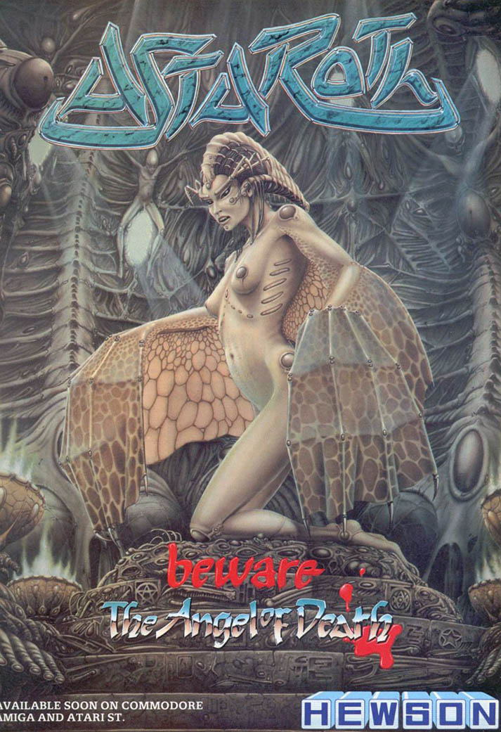 Astaroth: The Angel of Death - Amiga Advertisement scan