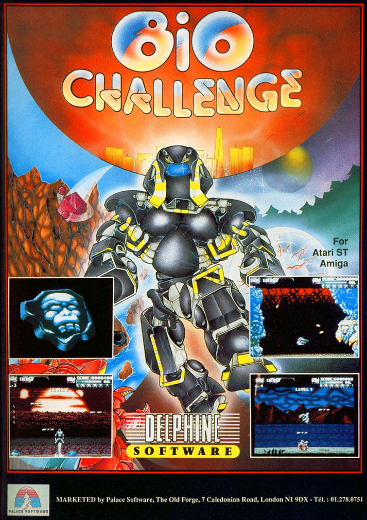 Bio Challenge - Amiga Advertisement scan