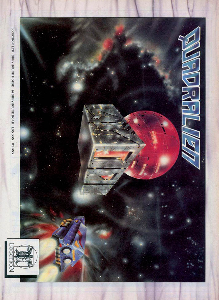 Quadralien - Amiga Advertisement scan