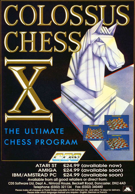 Distant Armies: A Playing History of Chess - Amiga Game