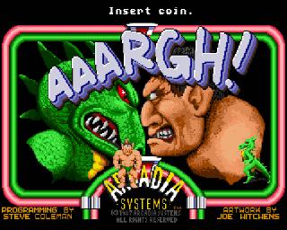 Aaargh! - Amiga Game / Games - Download ADF - Lemon Amiga