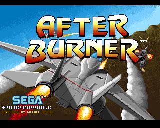 Afterburner game
