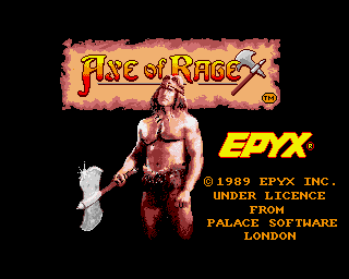 Axe of Rage screenshot
