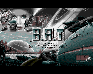 B A T , BAT - Amiga Game / Games - Download ADF, Walkthrough