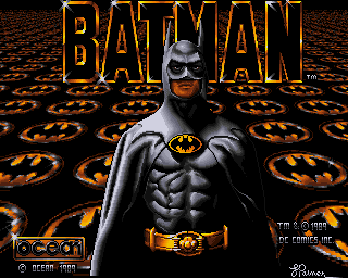 Batman - Amiga Game / Games - Download ADF, Music, Cheat