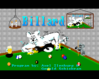 Billard - Amiga Game / Games - Download ADF - Lemon Amiga