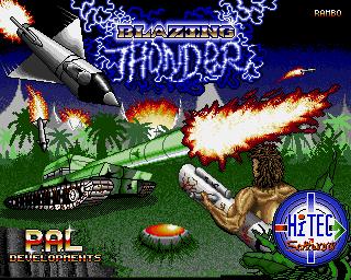 Blazing Thunder - Lemon Amiga