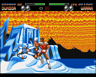 Body Blows Galactic AGA Download (1993 Amiga Game)