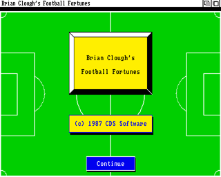 Brian Clough's Football Fortunes screenshot