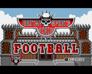 Brutal Sports Series Football screenshot