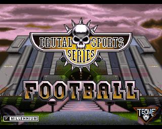 Brutal Sports Series Football - Lemon Amiga