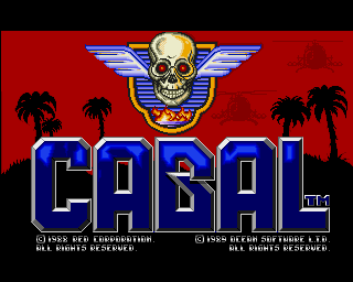 Cabal - Amiga Game / Games - Download ADF, Cheat - Lemon Amiga