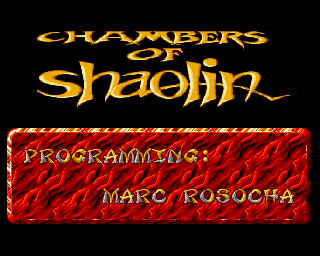 Chambers of Shaolin screenshot