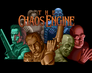 Chaos Engine, The, The Chaos Engine - Amiga CD32 Game