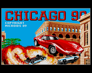 Chicago 90, Chicago 90s, Chicago 90's - Amiga Game / Games
