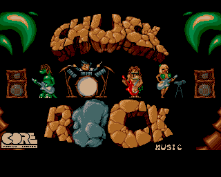 Chuck Rock - Amiga Game / Games - Download ADF, Music, Cheat