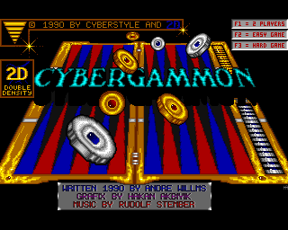 Cybergammon screenshot