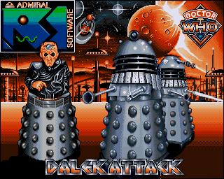 Dalek Attack - Lemon Amiga