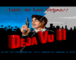 Deja Vu II: Lost in Las Vegas screenshot