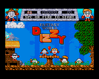 Dizzy: Fantasy World screenshot