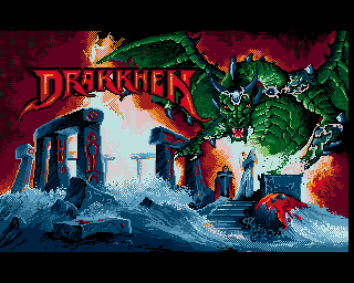 Drakkhen, Drakken, Draken - Amiga Game / Games - Download