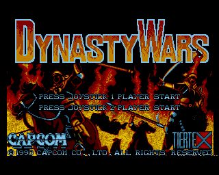 Dynasty Wars screenshot