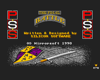 Final Battle, The screenshot