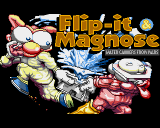 Flip-it & Magnose: Water Carriers from Mars - Lemon Amiga