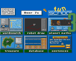 Fun School 3: For Over 7s screenshot