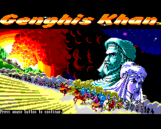 Genghis Khan - Amiga Game / Games - Download ADF - Lemon Amiga