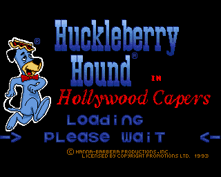 Huckleberry Hound in Hollywood Capers screenshot