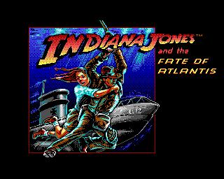 Indiana Jones and the Fate of Atlantis - Lemon Amiga