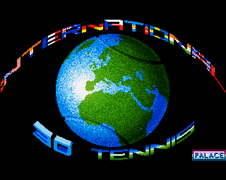 International 3D Tennis screenshot