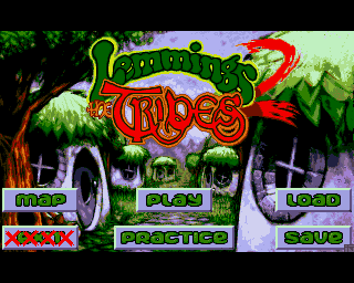 Lemmings 2: The Tribes screenshot