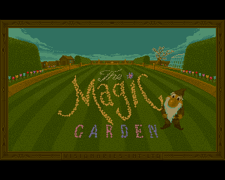 Magic Garden, The screenshot