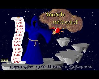 Math Wizard, MathWizard - Amiga Game / Games - Download ADF ...