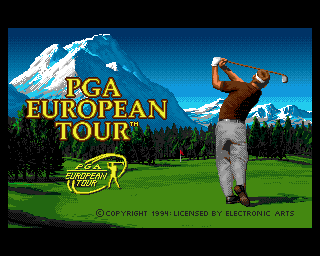 PGA European Tour screenshot