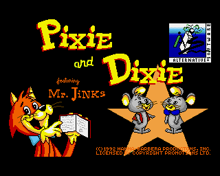 Pixie and Dixie screenshot