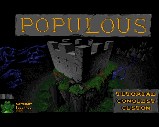 Populous - Amiga Game / Games - Download ADF, Music, Review